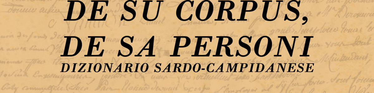 Maladias de su corpus, de sa personi  – dizionario sardo-campidanese – Giuseppe Pili